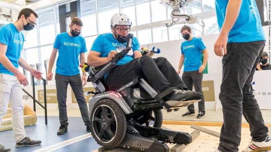 2020全球人机体育大赛:为残疾人展示改变生活的技术