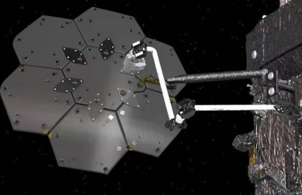 蜘蛛机器人开始太空维修工作 将用于NASA的在轨维修任务