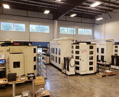 多托盘机和自动化系统帮助车间生产呼吸机组件
