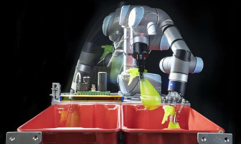 为工人减轻负担,深度学习可帮助机器人轻松抓取和移动物体
