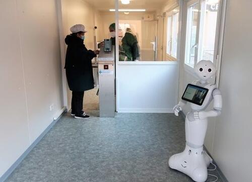 人形机器人Pepper 在捷克医院成功上岗