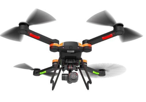 GDU新型无人机Saga 搭载红外摄像头承受2.2磅负载