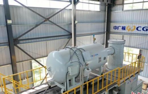中国首个电子束辐照处理医疗污水示范项目投产