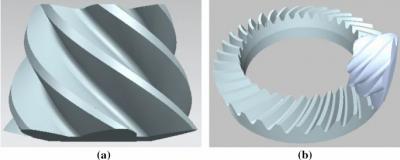 为了将螺旋锥齿轮设计与加工一体化,新控制程序比以前的更稳定!