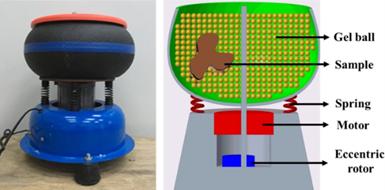 用凝胶球作为物品抛光的材料,可以很好的抛光并且降解无污染!