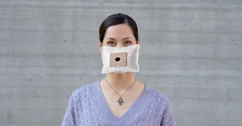 科学家正在研究不同织物口罩对病毒颗粒的过滤能力,并发现吸尘器袋过滤能力出色