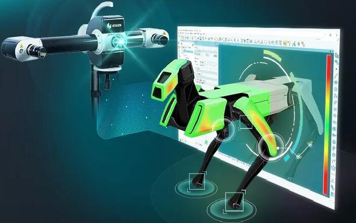 检测更高效简单!Hexagon推出专用于结构化光扫描仪的PolyWorks接口