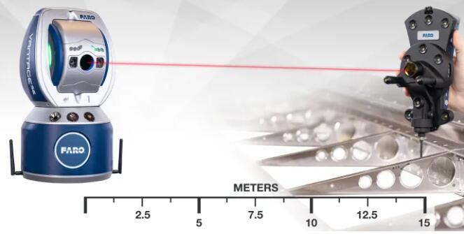 FARO推出最新的激光跟踪仪6DoF探头:测量更快更准