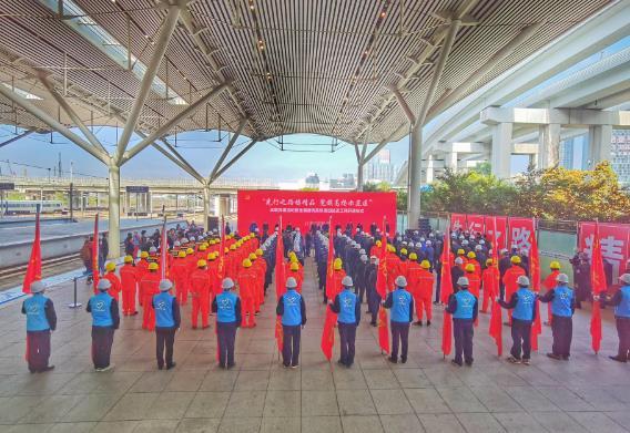 全国首例高铁枢纽站改造工程全面完工 为改造施工提供参考范本
