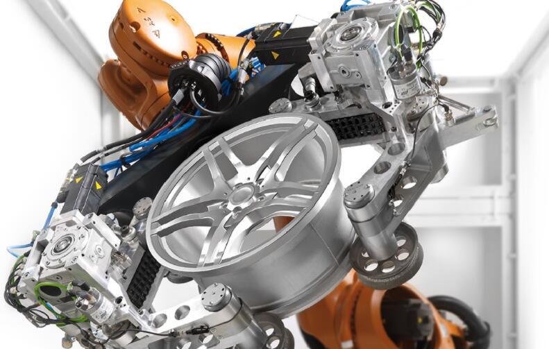 车轮机器人车轮检测系统可进行全自动测试车轮