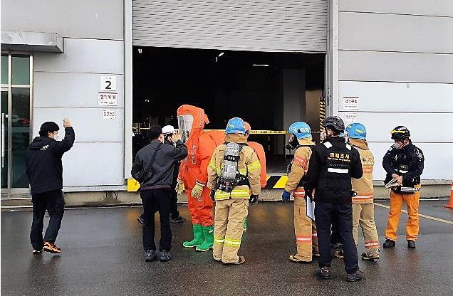 突發!LG Display坡州工廠發生危險化學品泄漏事故,附危險化學品的應急處置措施