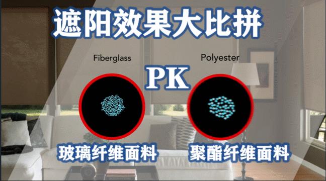 谈及遮阳,玻璃纤维面料VS聚酯纤维面料,谁与争锋