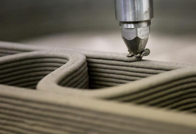 仿生螺旋模式可使3D打印混凝土更坚固 3D打印会是建筑行业的未来吗?