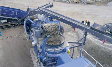 Kleemann推出新型圆锥破碎机,可以通过外部电源进行纯电操作