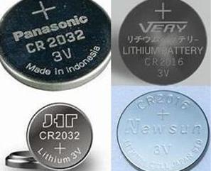 CR2016电池和CR2032电池之间的区别
