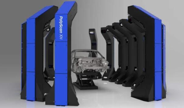 新型环绕声扫描仪:可检测大型零件的结构