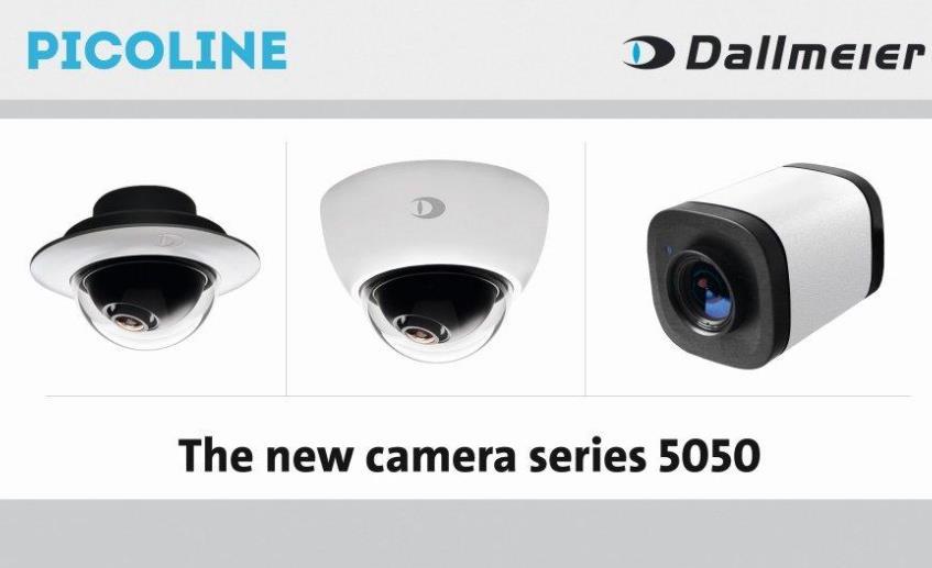 Dallmeier推出Picoline 5050系列超紧凑型固定半球和变焦盒式摄像机