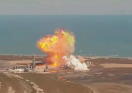 SpaceX星际飞船原型机试飞时爆炸,此前曾被紧急叫停