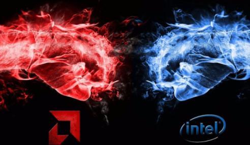 英特尔首次从AMD夺回1%PC市场份额,两家x86处理器巨头竞争愈发激烈