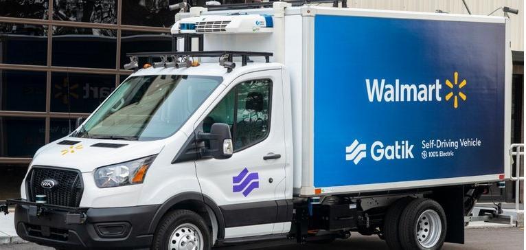 Gatik公司开发和测试一款自动驾驶电动卡车