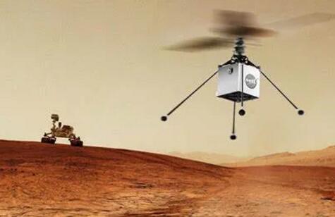 毅力號探測器成功登陸火星 開啟首例無人機地外飛行