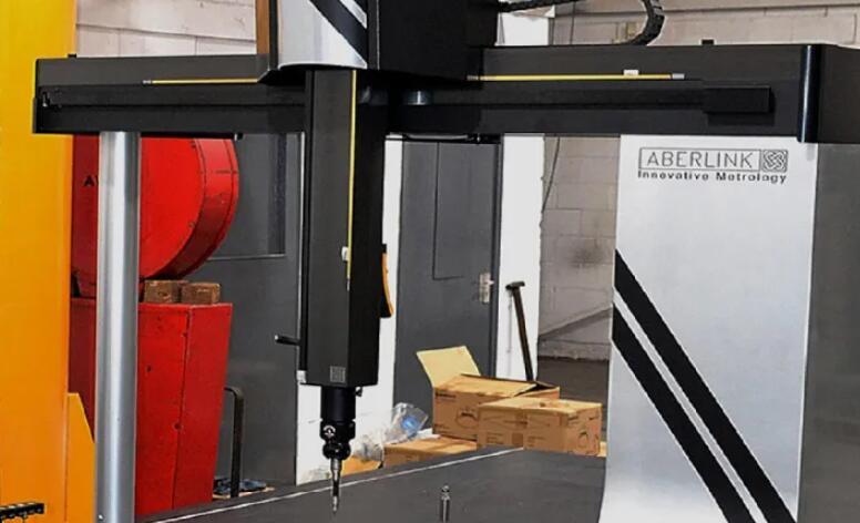 Aberlink大型三坐标测量机:可在制造时有效地测量大型和重型零件