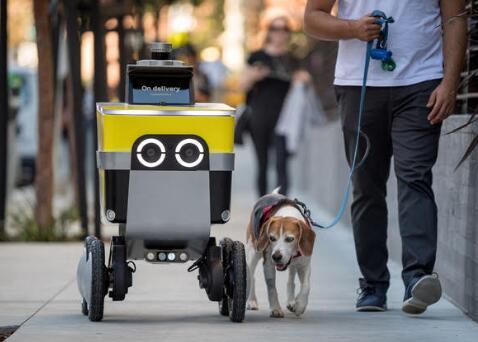 優步旗下機器人部門分拆成獨立公司,為客戶配送食品、雜貨和其他物品