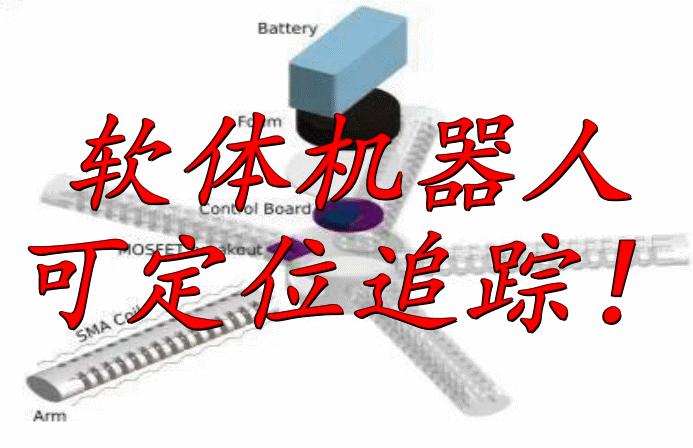 不用拴著電纜的軟體機器人,還可定位追蹤物品!