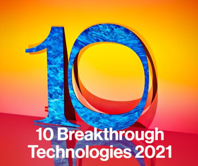 2021年全球十大突破性技術發布!占據4席的中國智造到底有多強?