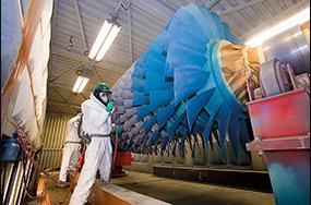 工業燃氣輪機如何才能獲得最有效的替代涂料?