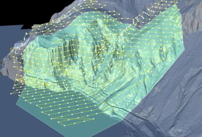 瑞士用无人机提高铁路安全性,在岩石滑坡发生之前提前预测