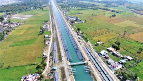 在运河上安装太阳能电池板存在哪些机遇与挑战?