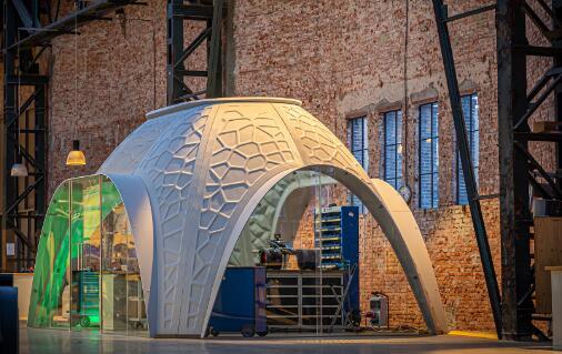 3D打印出的办公室:材质更坚固耐用,还能重复利用