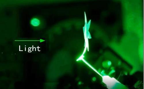 厉害了!仅靠灯光控制 新的智能材料即可扭曲、弯曲和移动