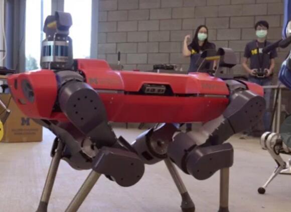 福特与UM合作,打造四层机器人研发大楼