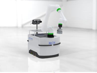 新型移动协作机器人,可将机器手臂放置在设施内的任何位置