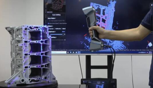 手持式计量3D扫描仪来了:具有高精度和稳定的可重复性