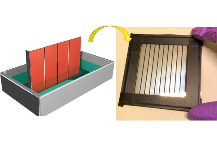 新的太阳能电池用过氧化物制造方法为大规模生产铺平了道路