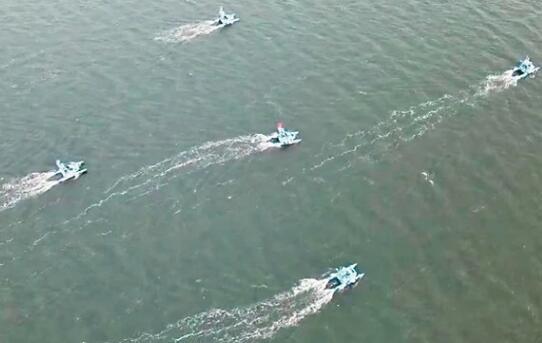 哈工大海洋机器人组团出道!全自主智能协同作业完成首次海试