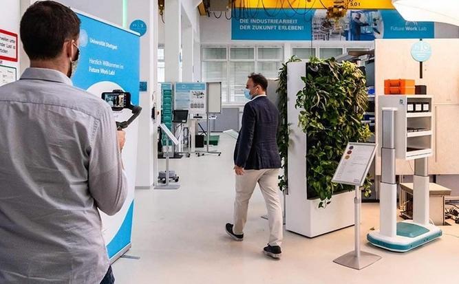 未来工作实验室展示了人工智能在制造业中的应用