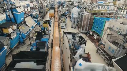 日产汽车使用锂离子电池的AGV为工厂自动化供电