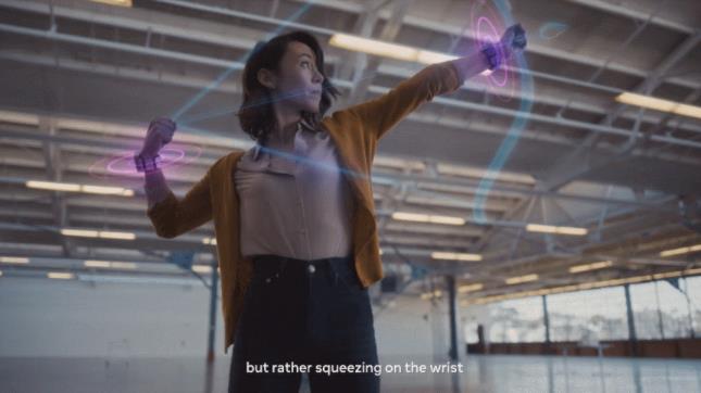Facebook开发AR/VR触控手环实现隔空控制操作,有望变革人机交互方式