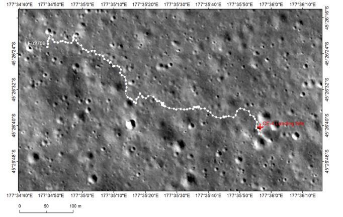 """""""玉兔二号""""月球车传来新动向,发现的石块源自芬森撞击坑"""