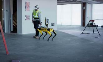 SPOT机器狗能自动跟随了,搭载Trimble全球导航卫星传感器