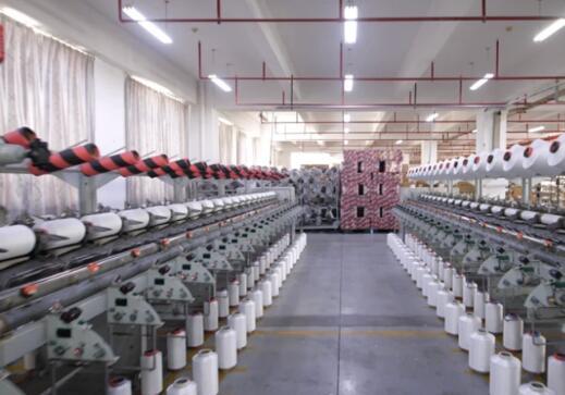 山东岱银成功推出抗静电织物专用导电纱线,共三大系列、二十多个品种