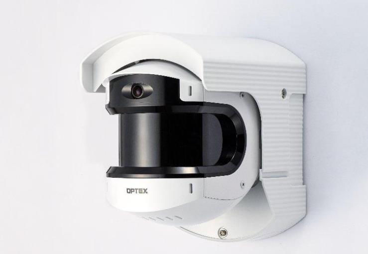 OPTEX推出新REDSCAN PRO激光雷达传感器,精确检测50mx100m范围内入侵者