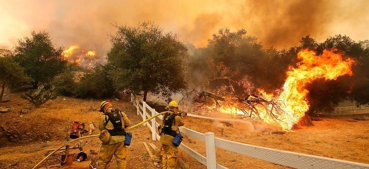 研究表明记录在案的野火导致空气污染水平提高