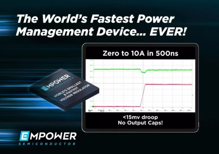 史无前例!Empower集成式稳压器实现全球最快电源管理器件瞬态响应