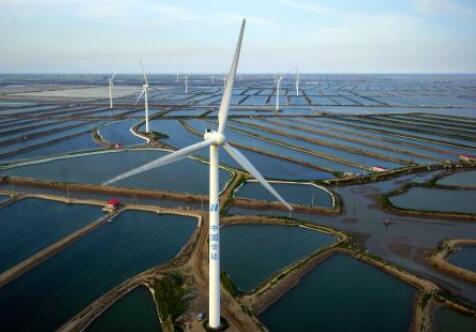 北方单体最大海上风电项目开建,装机容量350兆瓦,总投资59.6亿