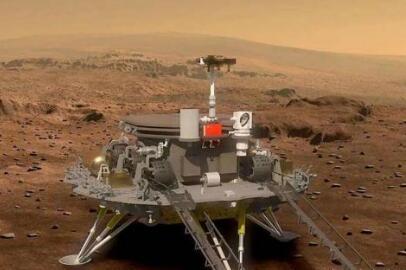 天问一号将于今年5、6月份择机着陆火星,比毅力号晚了四个月